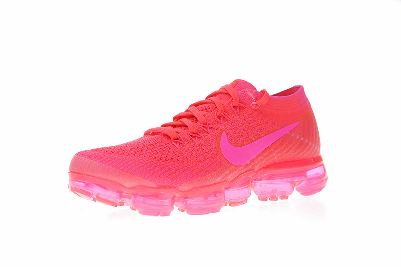 c22bfcd2f89be1cdf940deea85b6f3a3 - Nike Air VaporMax Flyknit 2.0 W 二代 熒光騷粉 女款 大氣墊 飛線 慢跑鞋 時尚 百搭 849557-604
