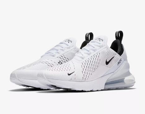 c3b5a5623d69e224b578a0b8d555ba58 - Nike Air Max 270系列 後跟半掌氣墊 慢跑鞋 白色 男款 休閒 百搭 AH8050-100