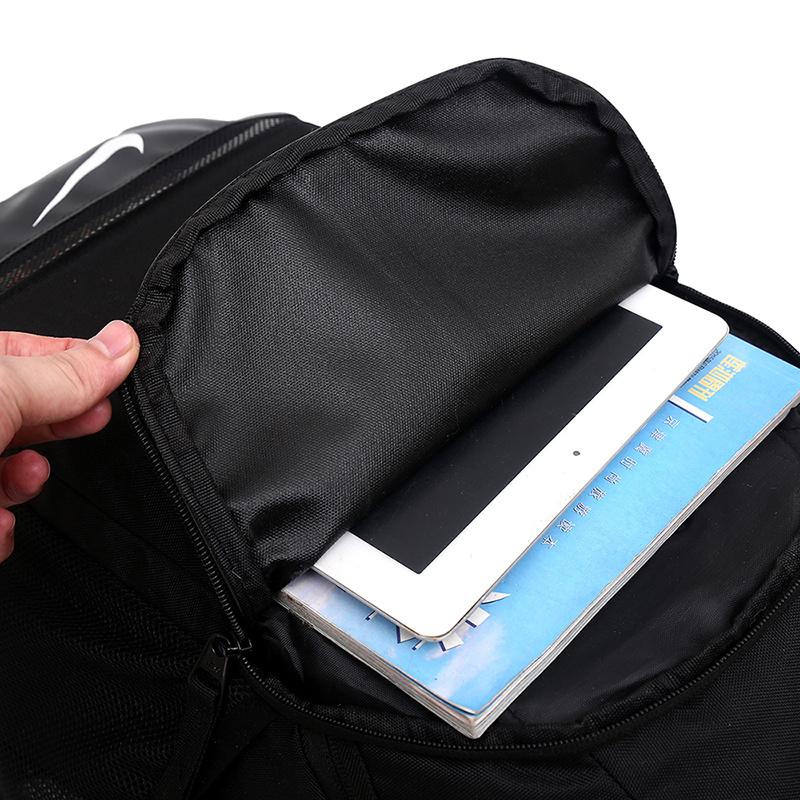 c87b25f01f1fb2ebec74e82536d1fb4c - 感嘆號 Nike 雙肩包 學生書包 旅行包 健身包 潮流後背包 黑白  45*29*20