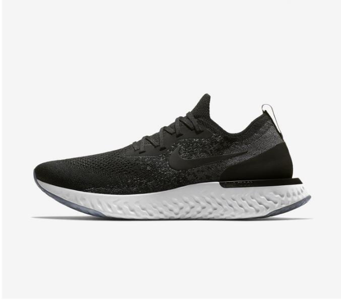 c99531c08001c0269462ede46b259d47 - Nike Epic React Flyknit 黑色 飛線 泡沫 顆粒 情侶款 慢跑鞋 休閒 時尚 AQ0067-001