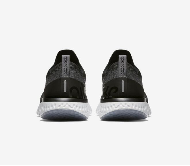 cb010c84a92ed3f8042b92298525bcde - Nike Epic React Flyknit 黑色 飛線 泡沫 顆粒 情侶款 慢跑鞋 休閒 時尚 AQ0067-001
