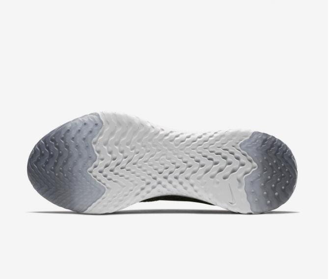 ccd71f4ccb2c276cb76ee94479b7b307 - Nike Epic React Flyknit 黑色 飛線 泡沫 顆粒 情侶款 慢跑鞋 休閒 時尚 AQ0067-001