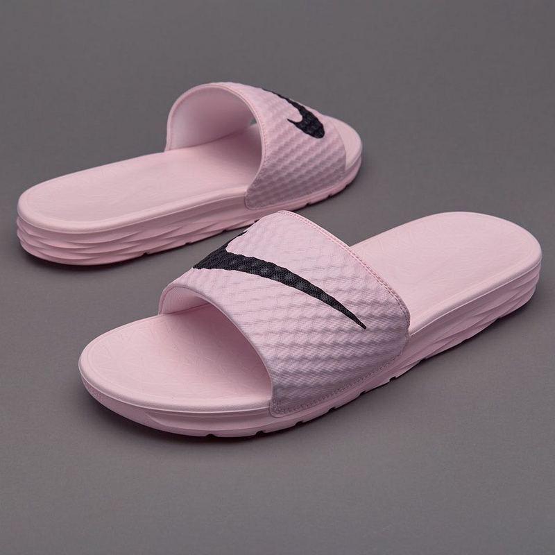 cd5e9caf5a4385a873e3f3fe84767617 - Nike Benassi 女神 粉色 大LOGO 沙灘 拖鞋 涼鞋 防水 防滑 時尚 百搭 705475-6013