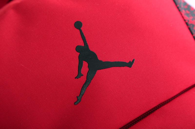 d243b0ac80328fb6ef311d9aae4f2fac - Jordan喬丹 雙肩包 書包 帆布 電腦 紅色後背包 時尚 百搭