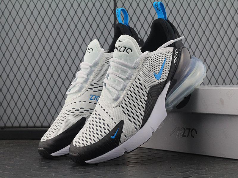 d7e3582392f5127636c52a8d714c245e - Nike Max 270 AH8050-203 半掌氣墊慢跑鞋 男款 白黑 透氣 時尚 百搭