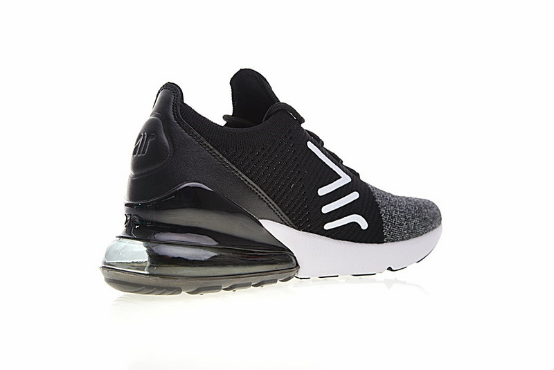 de00ee7bf17496cfa8359366986ec20d - Nike Air 270 Flyknit 飛織 氣墊 慢跑鞋 黑灰白 透氣 時尚 百搭AO1023-001