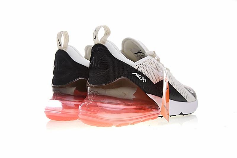 e17a88b7e21955b30d5259a5c5d6a908 - Nike Air Max 270系列 後跟半掌氣墊 慢跑鞋 米白 男款 休閒 百搭 AH8050-003