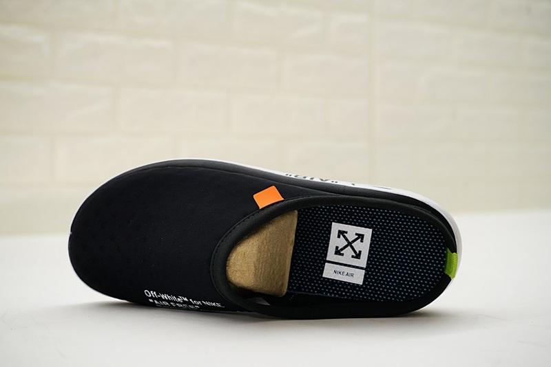 e50e6b15dd57b3dc332703123247be24 - Offwhite x Nike Air rejuvens3代鳥巢拖鞋 黑色 男款 防滑 時尚 百搭 441377-001