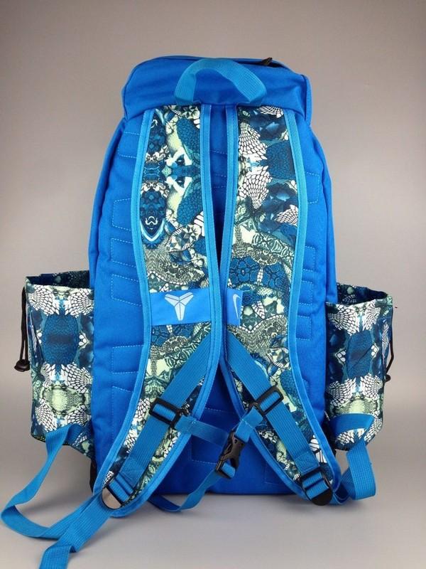 e5285ff5ad8e4ab96d2e68882aeb8fd1 - Nike Kobe 籃球包 大容量 雙肩包 旅行包 學生書包 鞋袋包 藍色 49*27*19