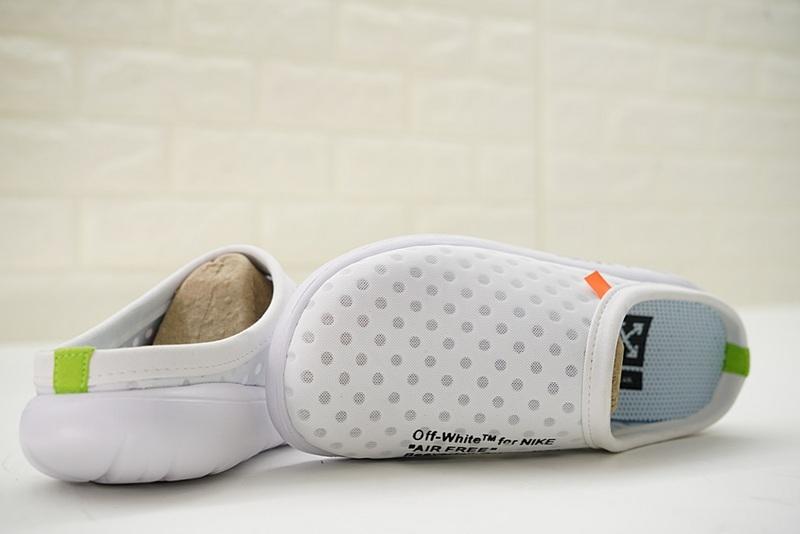 f593dd28600453aace04770fc49547cf - Offwhite x Nike Air rejuvens3代鳥巢 拖鞋 白色 洞洞鞋 男款 441377-002