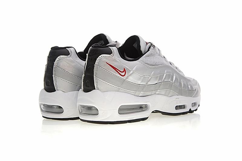 feadf08c8c09a01d8bf1e2916451a4f9 - Nike Air Max 95系列 復古氣墊慢跑鞋 太空銀白 男款 運動潮鞋 時尚百搭 918359-001