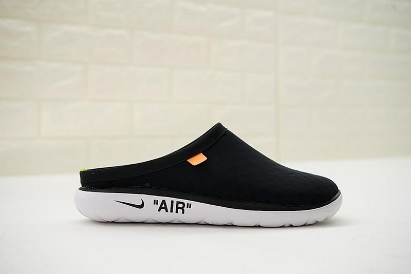 ffde98938f195e91e15bac121119b49a - Offwhite x Nike Air rejuvens3代鳥巢拖鞋 黑色 男款 防滑 時尚 百搭 441377-001