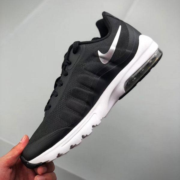 026cc5430550a27f5dd1be4622b9b197 - Nike Air Max Invigor 半掌氣墊跑步鞋 情侶款 黑白色 休閒 百搭-熱銷推薦❤️
