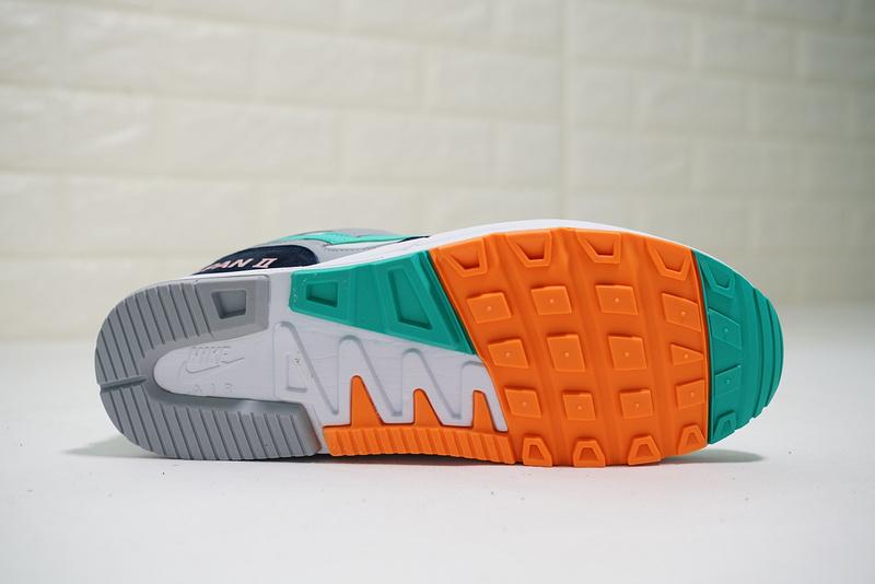 0362234920ec6c35fd70479c6a751d72 - Nike air span 2 男子 跑步鞋 黑白灰 綠鉤 透氣 舒適 時尚-熱銷推薦❤️