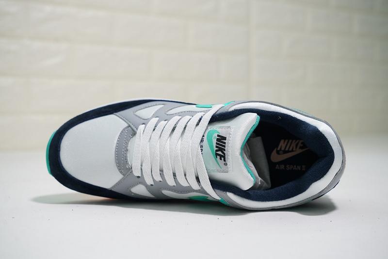 09a5dc50cef4e778fba5677a2504f16d - Nike air span 2 男子 跑步鞋 黑白灰 綠鉤 透氣 舒適 時尚-熱銷推薦❤️