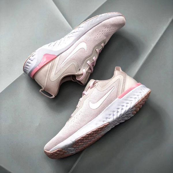 0b5773428e41da322d11ab55025c968c - Nike Epic React Flyknit 2代 白粉色 女款  透氣 慢跑鞋 舒適-現貨秒殺❤️