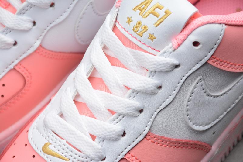 15abcd1ca6a6c12b4a5d3d4aeddd1a5b - Nike Air Force 空軍一號 低幫 休閒板鞋 粉白色 時尚 百搭-現貨秒殺❤️