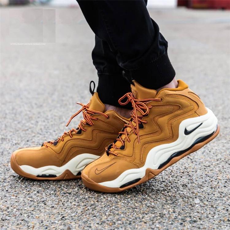 1deb967ecd0fd8ef1f64f533a9a2c55e - Nike Air Pippen皮蓬1代 小麥色 氣墊 實戰 高筒 籃球鞋 男款-最高品質❤️