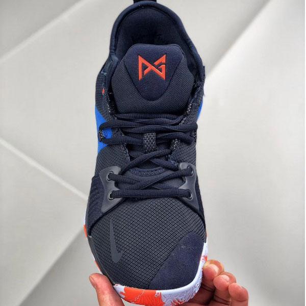 21a96bf728fc6686dab8ac72043f26e7 - Nike 喬治保羅二代 Sony PlayStation 男子籃球鞋 藍色 耐磨 防滑-現貨預購❤️