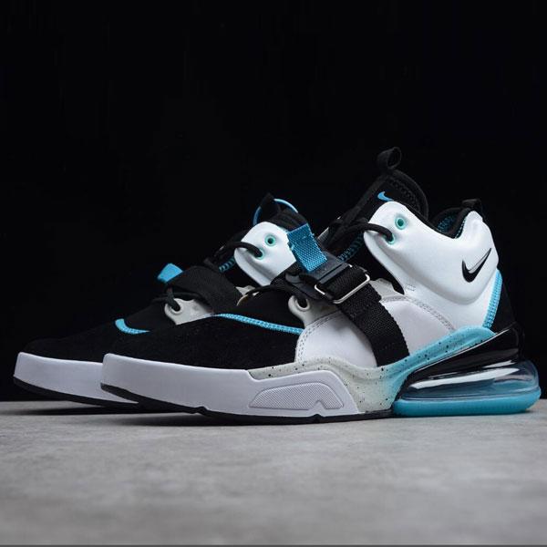 23b9e7345236bae6859a2ae8f77343cd - Nike Air Max 270 機能半掌氣墊 跑步鞋 男款 黑白藍 潮流 百搭-超熱賣❤️