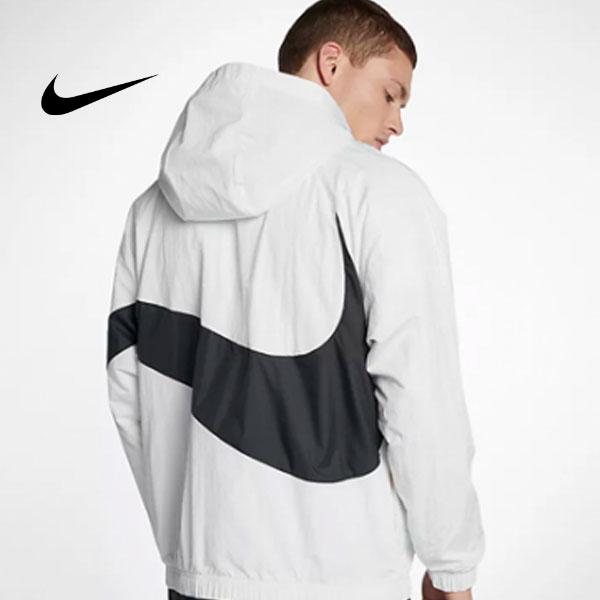 23ee49a16ca181fb38b344534188d58c - Nike 大鉤 街舞同款 半拉鏈 男款 運動夾克 白色 休閒 百搭-熱銷推薦❤️