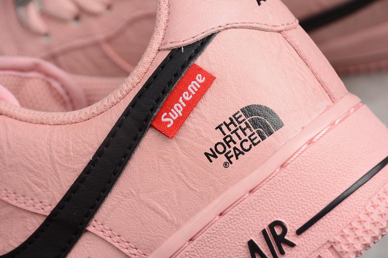 2ccc3e82ce76494d3e80cb261eaf342d - Supreme x Nike Air Force 1 聯名款 粉色 女鞋 休閒 潮流 新品-限時特賣❤️
