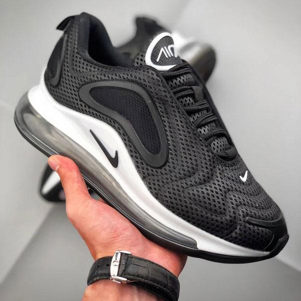 2f5e967f47f40523d18a573d9704d6ea - Nike Air Max 720 滴塑面 全掌氣墊慢跑鞋 情侶款 黑色 潮搭-熱銷推薦❤️