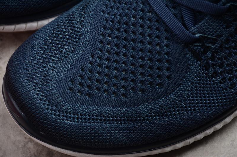 33c175e4489c49f3441fca093e01e5b7 - Nike Free Run 2018 男款 針織 休閑慢跑鞋 深藍色 時尚 百搭-限時特賣❤️