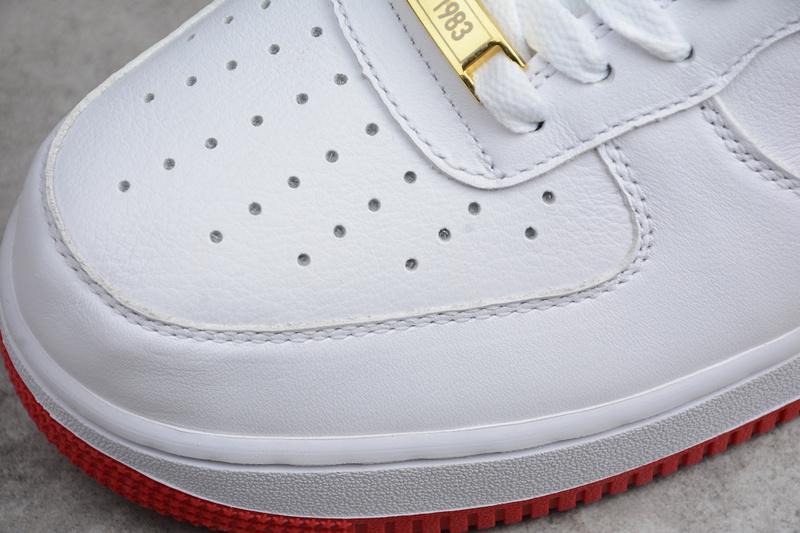 37feaa5a13b8ac5f01f0df5d37160fd8 - Nike Air Force 1 空軍一號 男款 白紅板鞋 休閒鞋 新品-熱銷推薦❤️