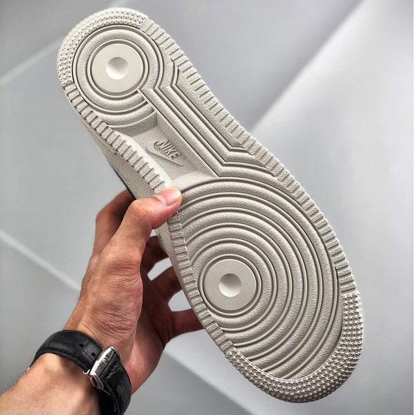 3976c8174a0224127381214f3d9b1d95 - Nike Air Force 1 Mid 中幫 頭層 荔枝紋 牛皮 水泥灰 休閒板鞋-熱銷推薦❤️