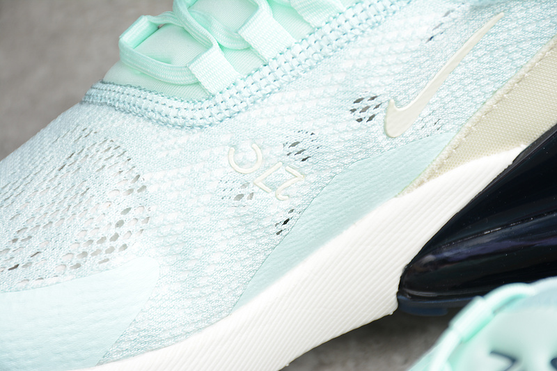 49a8d9e9c9f3e97e0019df48159d2968 - Nike Air Max 270 網面 薄荷綠 女鞋 半掌慢跑鞋 時尚 百搭-熱銷推薦❤️
