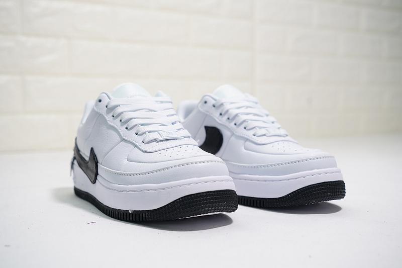 4c26333fc63aa1af3570d0444d37e3ac - Nike Air Force 輕量 厚底增高 低幫 百搭 板鞋 女生 白色-熱銷NO1❤️