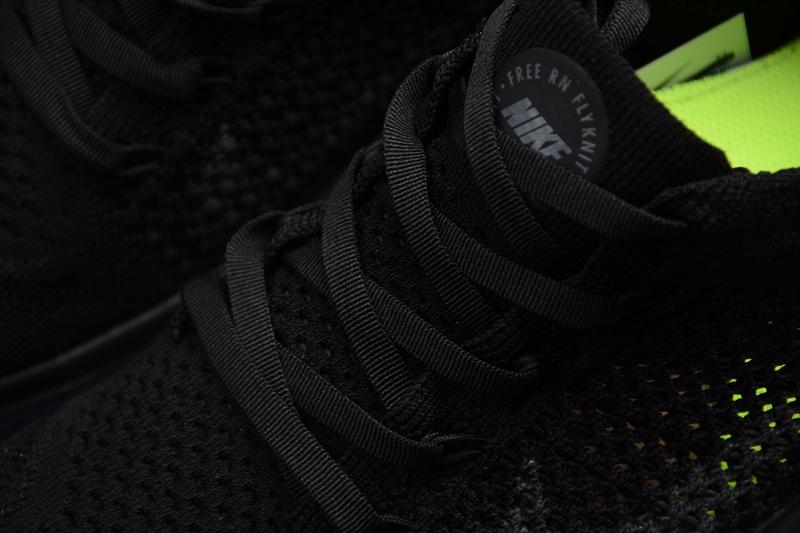 4d60a166fc7621732c28ce7f74897871 - Nike Free rn Flyknit 2018款 男子 赤足 輕便 飛線 全黑 跑步鞋-限時特賣❤️