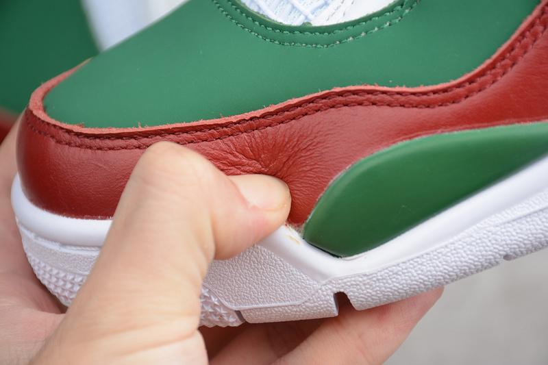 590b5413ba7f6efdbce9205f8f41cb8a - Air Jordan 4 RETRO Gucci 聯名限定款 白綠紅 休閒籃球鞋 男款-超熱賣❤️