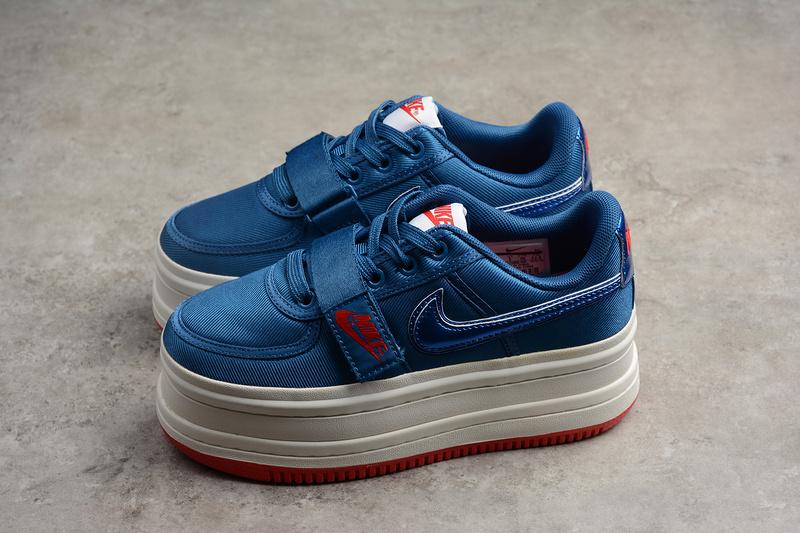 64f4c3b30deaf4031f310145f7c670a2 - Nike Vandal 2k Surprise 女鞋 復古 增高 厚底 松糕鞋 藍色-現貨預購❤️