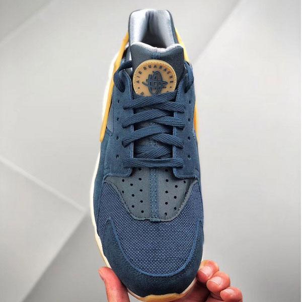 6a4da9f474fd943655852b0db38ff1a8 - Nike Air Huarache Run SE 華萊士 復古慢跑鞋 男鞋 深藍色 新品-獨家發售❤️