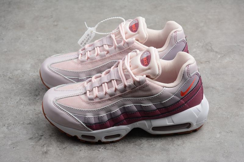 6d89df56ec950bd46365beefb8ab61bc - Nike Air Max 95 粉紫色 氣墊跑鞋 女款 休閒運動鞋 百搭-熱銷推薦❤️