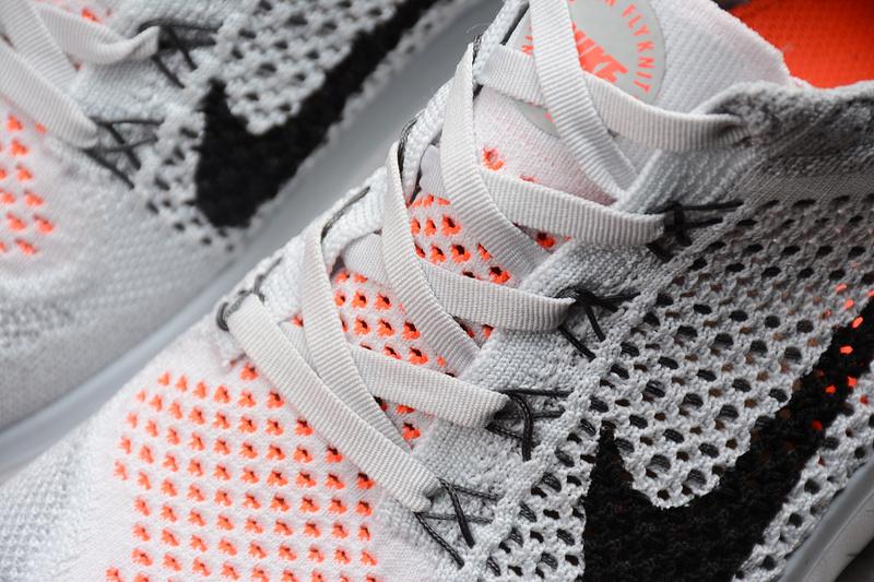 6f58d8656b8b256a5ba99aa56859d978 - Nike Free rn Flyknit 2018款 男子 赤足 灰橙色 透氣 跑步鞋-現貨預購❤️