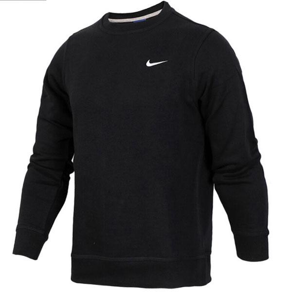 70351d2c43c3e5bc6b2fdd59a2ca2ba4 - Nike 陳冠希同款 經典 長袖 圓領 套頭衛衣 黑色 休閒 百搭-熱銷推薦❤️
