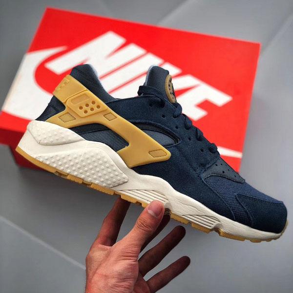 78b0d48f6fb9d9a96c9ea76acdf8e651 - Nike Air Huarache Run SE 華萊士 復古慢跑鞋 男鞋 深藍色 新品-獨家發售❤️