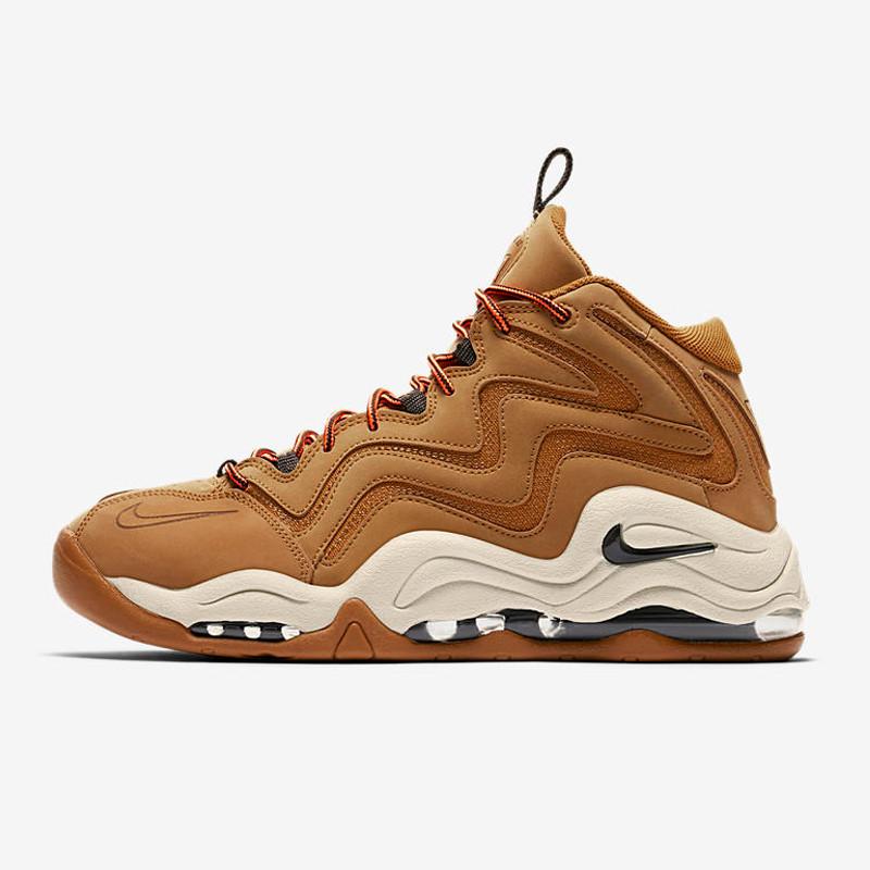 799ed9e25541d1ec7979f78adf22ede4 - Nike Air Pippen皮蓬1代 小麥色 氣墊 實戰 高筒 籃球鞋 男款-最高品質❤️