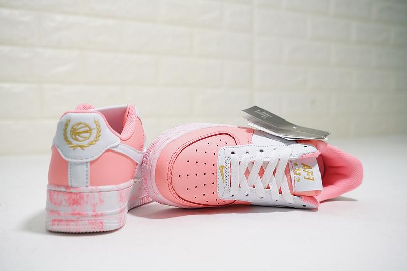 7b02e90c1c2fb96cd1279159601fd639 - Nike Air Force 1 Low 經典 百搭 休閒板鞋 厚底增高 粉白色-熱銷NO1❤️