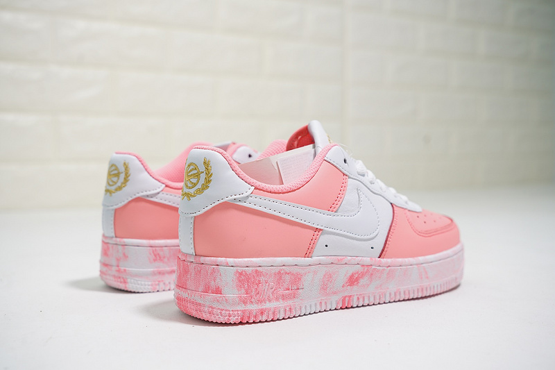 7c9622b9379c7a26576cafd1e1be84c7 - Nike Air Force 1 Low 經典 百搭 休閒板鞋 厚底增高 粉白色-熱銷NO1❤️