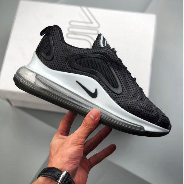 810a634559534f7e48dfc2eff6aaeab1 - Nike Air Max 720 滴塑面 全掌氣墊慢跑鞋 情侶款 黑色 潮搭-熱銷推薦❤️