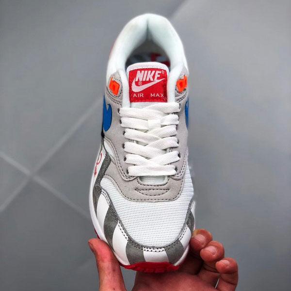 8191755f5cd3091f92c1f11a81e373b1 - Piet Parra x Nike Air Max 1 復古 氣墊慢跑鞋 情侶款 灰白色-現貨限量❤️