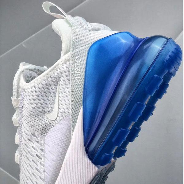 899116dd05665603d0c3c3f23d884b81 - NIKE Air Max 270 復古風 女鞋 淺灰色 半掌氣墊慢跑鞋 潮流-熱銷推薦❤️