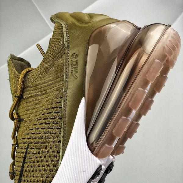 8af6631b4dc0b802bcfdc7b4b7e6b875 - Nike Air Max 270 網面 半掌氣墊跑步鞋 軍綠色 運動 男款-限時特賣❤️