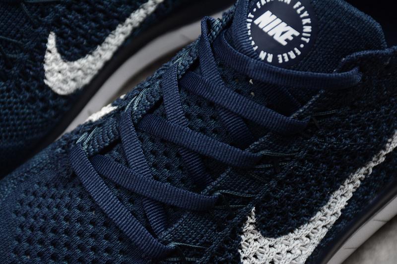 90ca2ba0a259aa1e33864e9b830ea0d4 - Nike Free Run 2018 男款 針織 休閑慢跑鞋 深藍色 時尚 百搭-限時特賣❤️