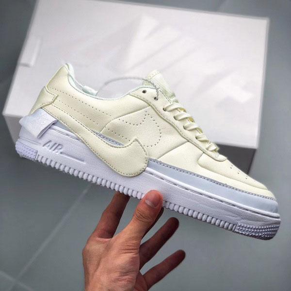 925ad35d880ea8802b24949c4f90de70 - Nike Wmns Air Force 1 空軍一號 女款 米白色 休閒板鞋 百搭-熱銷推薦❤️