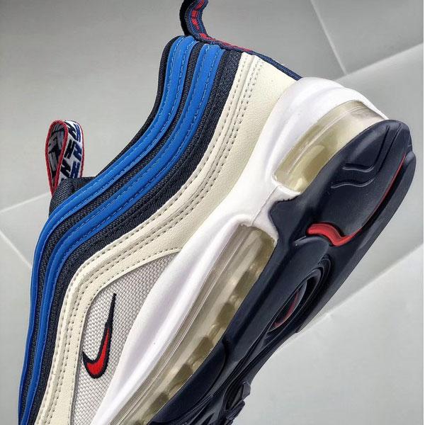 a1e79195669b90e621e2049dcb3b7006 - Nike air max 97 SE PULL TAB 深藍米白 全掌氣墊慢跑鞋 男款-熱銷推薦❤️